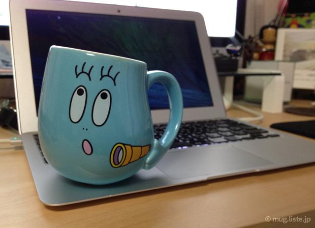 バーバピカリのマグカップ